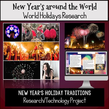 New Year's Around the World:  New Year's Holiday Research and Technology Project