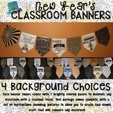 New Year's Banner Set for the Classroom