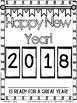 New Year's Book: 2019-2020, Memories, Goals, Resolutions, Letter, All About Me