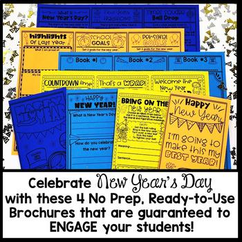 New Year's Brochure Tri-fold Bundle