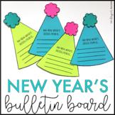 New Year's Bulletin Board | January Bulletin Board| New Year's Activity