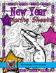 New Year Activities: Journal and Doodle Coloring Pages