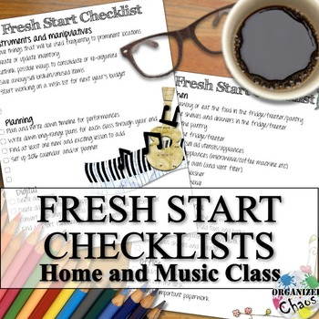 New Year's Checklist for a Fresh Start at School and Home