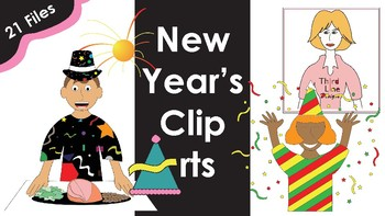 New Year's Clip Arts