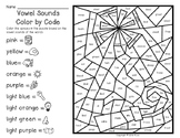 Happy New Year Color By Code - Vowel Sounds