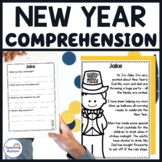 New Year's Reading Comprehension Passages and Questions