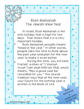 New Year's Comprehension Part 1 Israel and India