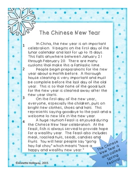 New Year's Comprehension Part 2 China and Iran