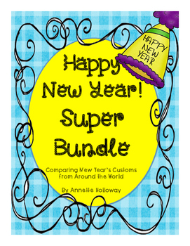 New Year's Comprehension and Fluency Super BundleUPDATED
