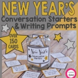 New Year's Conversation Starters and Writing Prompts