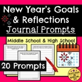 New Year's Daily Journal Writing Prompts for Reflections a