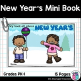 New Year's Day Mini Book for Early Readers