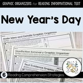 New Year's Day ~ Graphic Organizers for Reading Informational Text