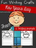 New Year's Day Writing Prompts - Build a Funny Face Craft