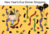 Smartboard Fun:  New Year's Dinner Shopping Activity - Functional Math Lesson