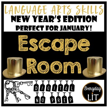 New Year's Escape Room (Digital)