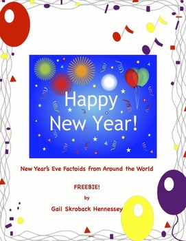 New Year's Eve Customs from Around the World! FREEBIE