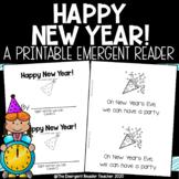 Happy New Year Emergent Reader