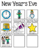 New Year's Eve Guided Writing Pattern Prompts for Emerging Writers