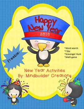 New Year's Eve Printable Activities ~ Freebie