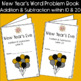 New Year's Eve Word Problem Books: Addition and Subtraction within 10 and 20