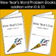 New Year's Eve Word Problem Books: Addition within 10 and 20