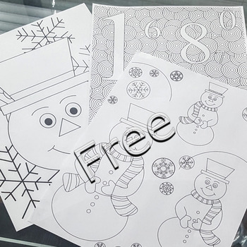 New Year's Eve crafts Times Square NYE ball drop countdown FREE coloring pages