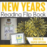 New Years 2020 Activities Flip Book- New Years Resolutions