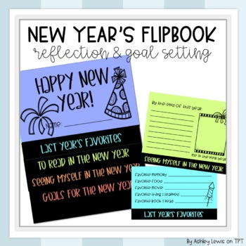 New Year's Goal Setting Flip Book
