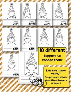 New Year's Flipbook Craftivity