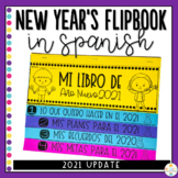 New Year's Flipbook in Spanish - Año Nuevo