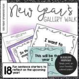 New Year's Gallery Walk: An After Winter Break Activity