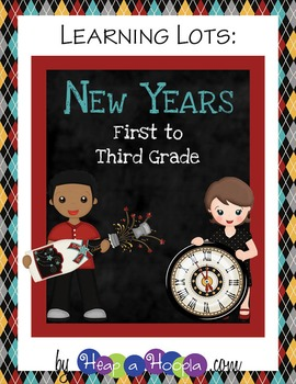 New Year's Games and Activities for First, Second and Third grades