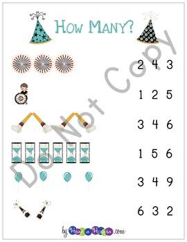 New Year's Games and Activities for Preschool & Kindergarten
