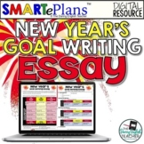 New Year's Goal Essay for Google Drive - Distance Learning