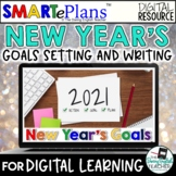 New Year's Goal Setting Activity and Reflection Writing -