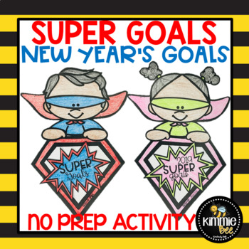 New Year's Goal Setting No Prep Craftvity
