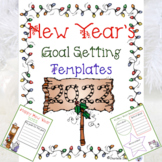New Year's Goal Setting Templates 2017