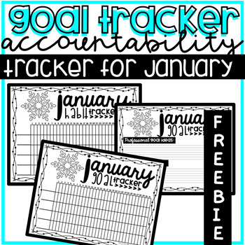 New Year's Goal & Habit Tracking and Setting