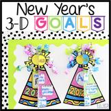3-D New Year's Goals Hats: 2020 Goal Writing Activity