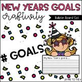 New Year's Goals Bulletin Board Set