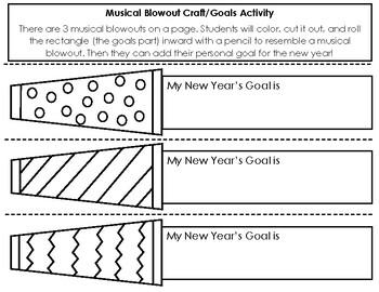 New Year's Goals Craft