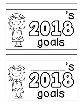 New Year's Goals Flipbook