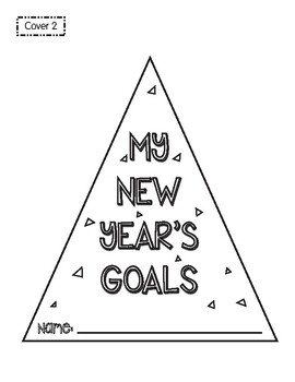 New Year's Goals Writing Craftivity