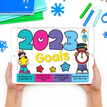 New Year's Growth Mindset Flip Books