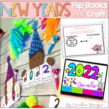 New Year's Growth Mindset Flip Books