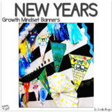 New Year's 2018 Growth Mindset Goal Banners
