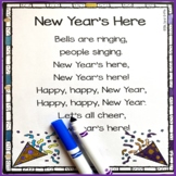 New Year's Here - Poem for Kids