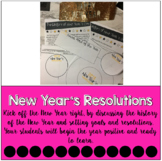 New Year's History and Resolutions Activities