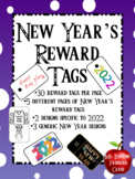 New Years Holiday Brag Tags 2018